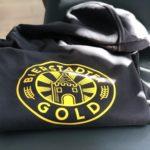 """Hoodie """"BIERSTADTER GOLD"""" - schwarz"""