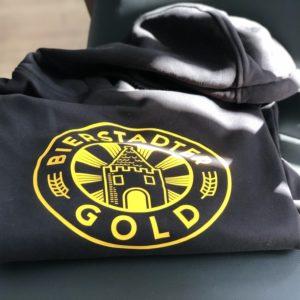 Bierstadter Gold Hoodie schwarz