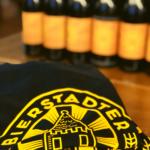 """T-Shirt """"BIERSTADTER GOLD"""" Logo groß - schwarz"""