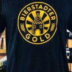 """T-Shirt """"BIERSTADTER GOLD"""" - schwarz"""