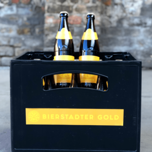 Bierstadter Gold case unfiltered wiesbaden beer brewery
