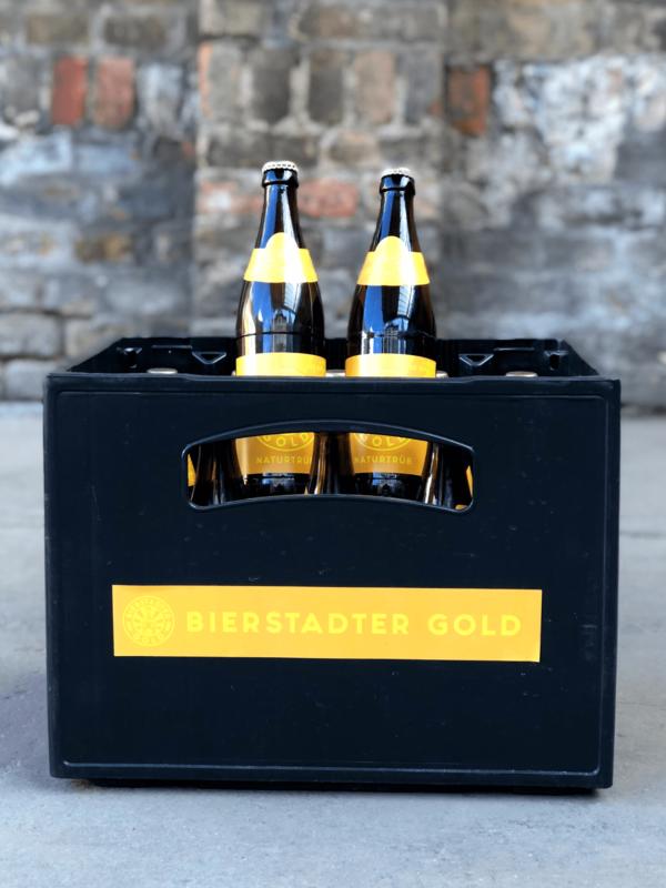 Bierstadter Gold Naturtrüb Koffer Kiste Bier