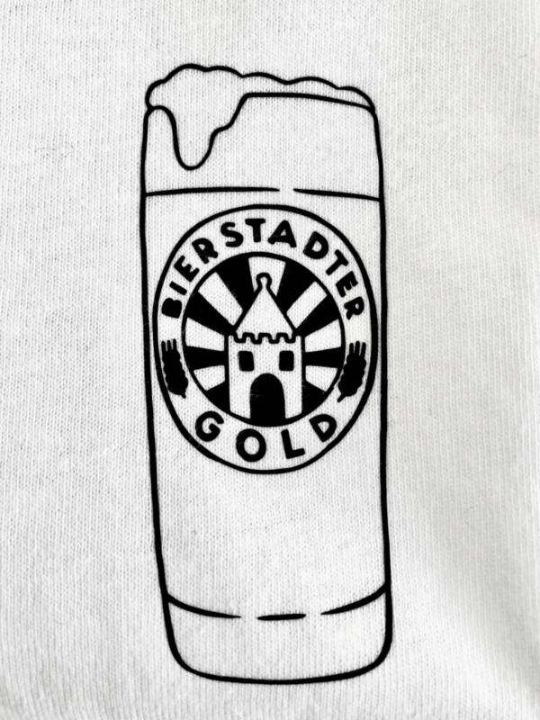 T-Shirt Willi Becher Bierstadter Gold 3