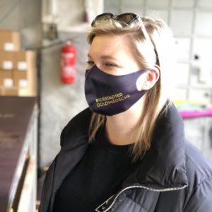 Bierstadter Goldmädsche Gesichtsmaske Mund Nase Bedeckung