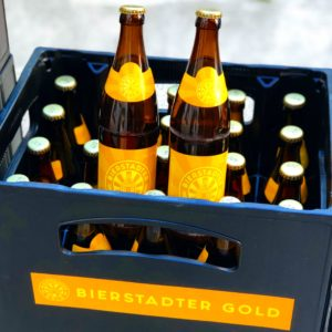 Bierstadter Gold local beer Wiesbaden unfiltered natural