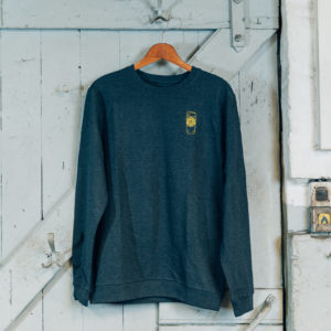 Bierstadter Gold Sweater grau Willi Becher