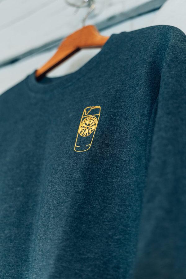 Bierstadter Gold Sweater grau Willi Becher