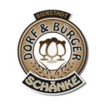 Logos Bierstadter Gold Partner Dorfschänke Bürgerschänke